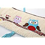 Laugh-Giggle-Smile-Spotty-Owls-4-Piece-Bumper-Pad-Set