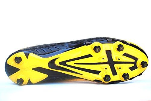 Nike Alpha Pro 2 3/4 D Heren Afneembare Voetbalcleats Varsity Maïs / Zwart / Zwart