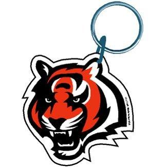 Bengals Key (Cincinnati Bengals Team Logo Premium Acrylic Keychain)