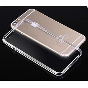 TL toophone? joylandcrystal claro caso de TPU transparente suave de 0,3 mm de silicio para el iphone 6 (4.7 '') (Azul)