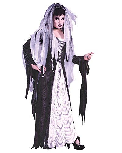 Bride Of Darkness Gothic Zombie Bride Halloween Sizes: (Daughter Of Darkness Halloween Costume)
