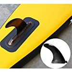 Ryyland-Home-Paddle-Board-Gonfiabile-di-Corsa-SUP-Consiglio-Stand-Up-Paddle-Insieme-del-Bordo-for-River-Floating-Stand-Up-Paddle-Kit-Consiglio-Tavole-gonfiabili-Color-Yellow-Size-381x71x15cm