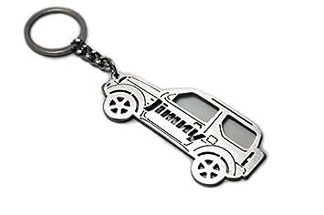 Amazon.com: Llavero con colgante de llave con anillo para ...