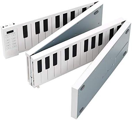 roll up electrónico piano teclado Fodable Piano 88 Teclas ...