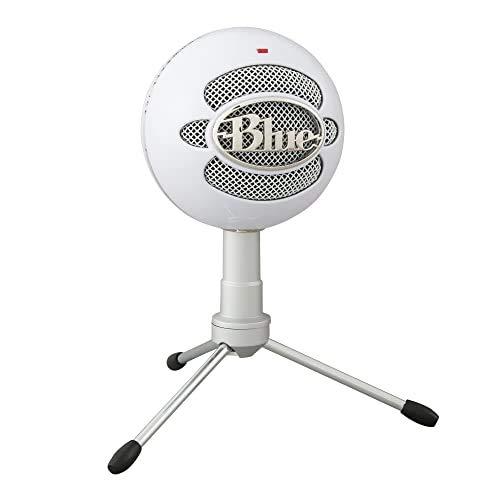 Microfone Condensador USB Blue Snowball iCE com Captação Cardióide, Ajustável, Plug and Play para Gravação e Streaming…
