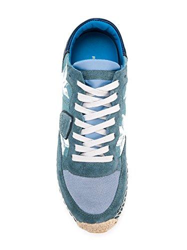 Philippe Femme Baskets Claire Model SALDAC01 Bleu Suède qwqpZ