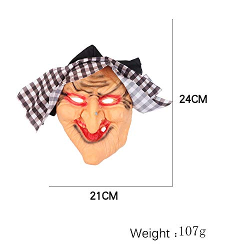SuperCS Halloween Party Masks Classic Horror Witch Mask Masquerade Dress Up Costume Props]()