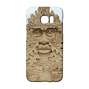 Samsung Galaxy S7 Edge Phone Case Beach View Back Cover Case Sturdy 3D Design Snap on Samsung Galaxy S7 Edge Mobile Shell