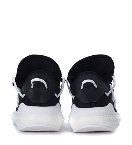 Adidas Y-3 Mens Y-3 Kusari Svart Nät Och Läder Gymnastiksko Svart