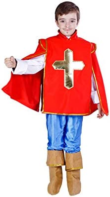 Disfraz de Mosquetero niño: Amazon.es: Juguetes y juegos