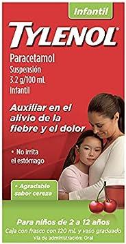Tylenol Suspensión Infantil, Cereza, 120 ml