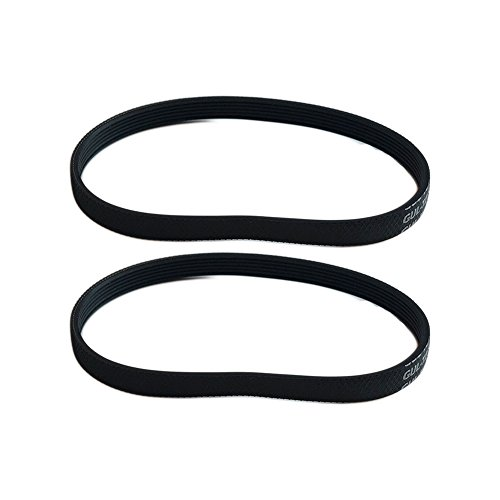 Think Crucial 2 Replacements for Hoover Platinum Poly V Serpentine Belt Fits Platinum UH30010COM, UH30010CCA & UH30010, Compatible With Part # 562200001 by Crucial Vacuum