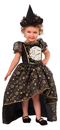 Rubie's Glitter Witch Child's Costume, Toddler]()