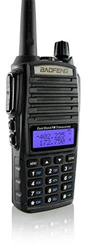DOUBLESTAR Baofeng UV-82 Dual-Band 136-174/400-520 MHz FM Ham Two-Way Radio, Transceiver (Black)