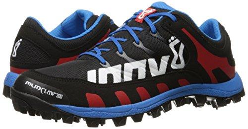 Inov-8-Mudclaw-300-CL-Trail-Runner-BlackBlueRed-75-C-US