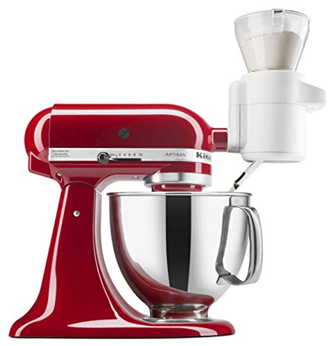 - KitchenAid KSMSFTA Sifter + Scale Attachment, 4 Cup
