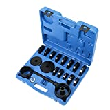 OrionMotorTech FWD Front Wheel Drive Bearing Adapters Puller Separator Splitter Press Replacement Installer Removal Tool Kit