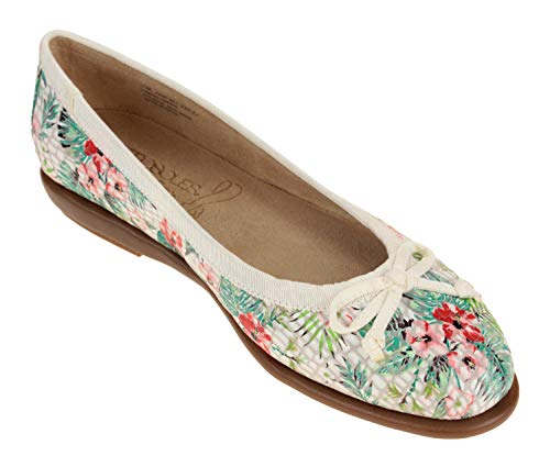 Ballet Aerosoles Flat Women's Floral Combo 00q4Tpx