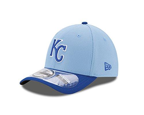 MLB Kansas City Royals 2Tone Diamond Era 39Thirty Flex Fit Cap, Blue, Small/Medium (Kansas Hats City Royals)