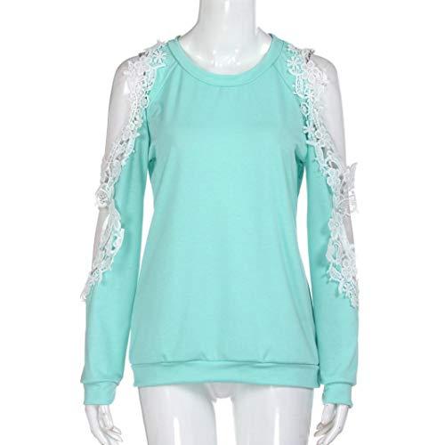 Camicia Donna Tinta Blue Tonda Unita Manica Punta Xmiral A Lunga 4Hdwqw8