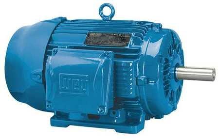 WEG 00318ET3E182T-W22 W22 NEMA Premium Efficiency Ball Bearing Severe Duty and General Purpose Electric Motor, 3 HP, 3-Phase, 1760 rpm, 208-230/460 V, 60 Hz, Frame 182/4T