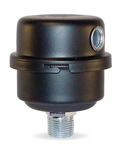 중서부 제어 FS-04-050 소형 필터 소음기, 2 미크론 종이 요소, 탄소..