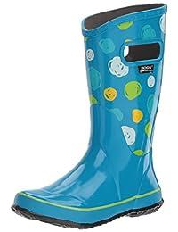 Bogs Muck Boots Kids Rain Boot Sketch Dot Waterproof Rubber 72089