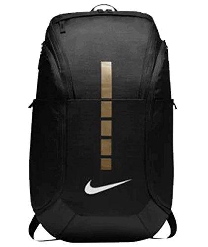 Nike Hoops Elite Hoops Pro Basketball Backpack,Black/Metallic Gold,One Size from Nike