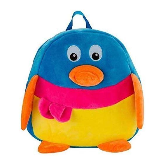 PRA-V School Bag for Kids/Girls/Boys/Children Plush Soft Bag Backpack Duck Cartoon Bag Gift for Kids Cartoon Toy Cute