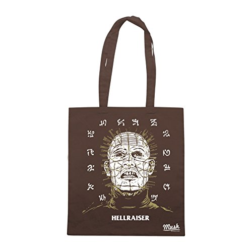 Borsa HELLRAISER HORROR 80'S - Marrone - FILM by Mush Dress Your Style