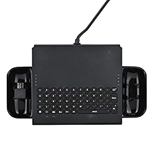 ASHATA Keyboard for Nintendo Switch, 4.8-5.5V USB/Type-C Interface Wired Game Keyboard for Nintendo Switch Console