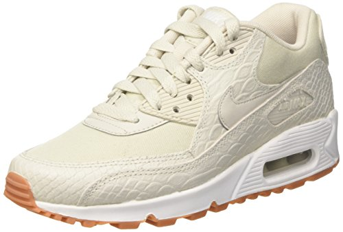 Nike Damen Wmns Max 90 Prm Trainer Beige (Light Bone/gum Yellow/white)