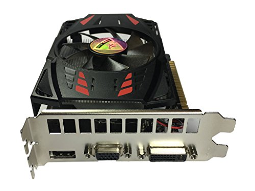 ViewMax NVIDIA GeForce GT 730 2GB GDDR5 128 Bit PCI Express (PCIe) DVI Video Card HDMI & HDCP Support WARRIOR EDITION by VIEW MAX (Image #2)