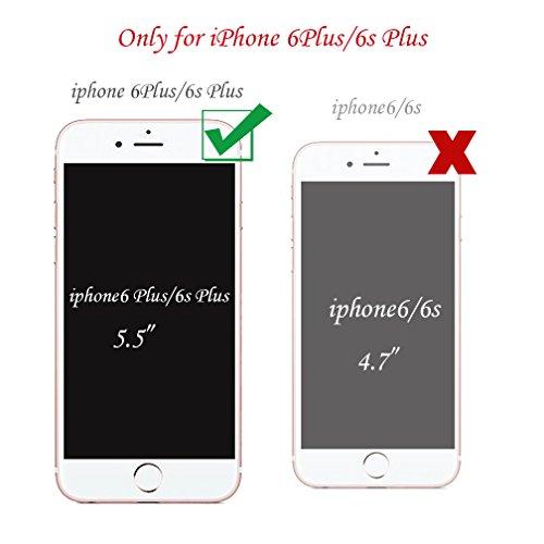 Funda iPhone 6/6S XiaoXiMi Carcasa Transparente de Silicona Clear Soft TPU Silicone Case Cover Bumper Funda Protectora Carcasa Blanda Caso Suave Flexible Caja Delgado Ligero Casco Anti Rasguños Anti C Ondas Rosa