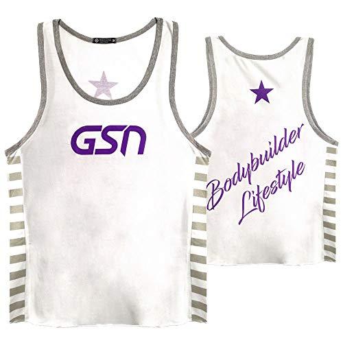 Regata Gsn Bodybuilder Lifestyle (Branca) - Gsn