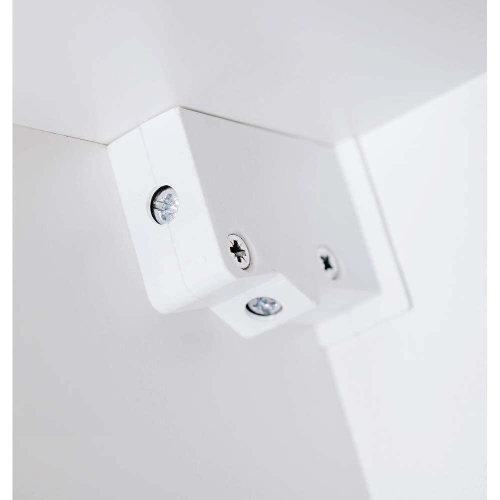 B//H//T Lomadox Badezimmer Hochschrank mit Schubkasten und 2 T/üren VISBY-56 Hochglanz wei/ß 35//170//33cm