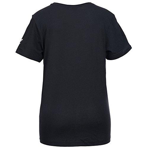 adidas Originals Allover Typo Print–Camiseta aa2486 Negro - negro