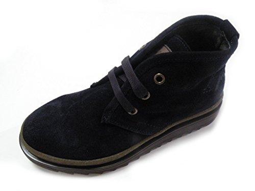 Andrea Morelli Hohe Schuhe mit KABELN in Gamuza Made in Italy IE53610 Blau Blau