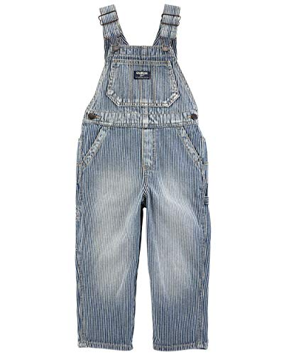 OshKosh B'Gosh Baby Boys' World's Best Overalls, Engine wash, 6-9 Months]()