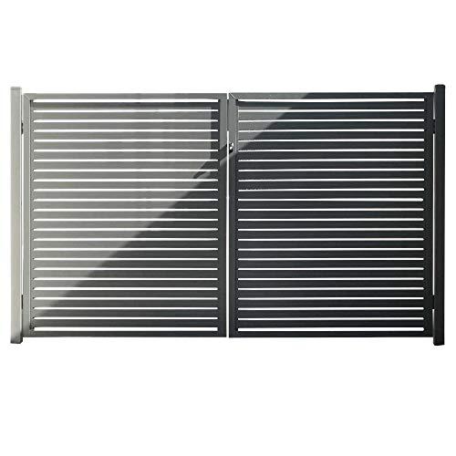 Stratco Aluminum Slat Fence Gate 71
