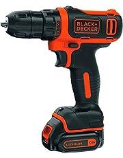 Black and Decker Drill Driver,10.8V Compact Cordless Lithium,BDCDD12-B5