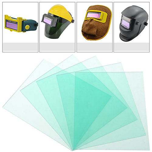 Mask Clear Lens - Techinal 15 Pieces Clear Cover Lens 4.33 X 3.54 Inches/110 X 90mm For Welding Helmet Hood Mask Lens Replacement Lens Cover