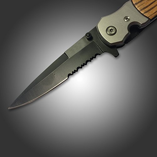Best-Hunting-Tactical-Spring-Assisted-Tac-Force-Tanto-Folding-Knife-and-Pocket-Knife-for-Deer-Boar-Hog-and-Fishing-Buck-Knife-Boy-Scout-Pocket-Knife-with-Clip-New-Rescue-Knife-Survival-Carbon-Steel-Bl