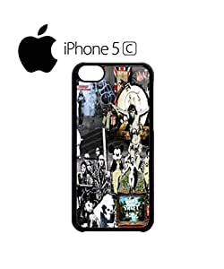 Banksy Street Art Graffiti Mobile Cell Phone Case Cover iPhone 5c Black
