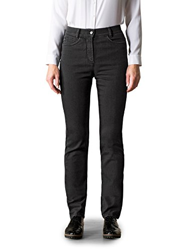 Walbusch Damen Jeans-Jeans Schwarz Gr. 48