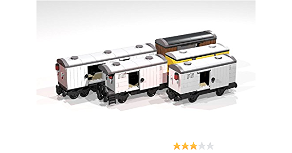 Amazon Com Collection Of Eight 4 And 8 Wheel Reefers And Box Cars Lego Moc Building Instructions Lego Train Moc Plans Ebook Chaton E Kindle Store