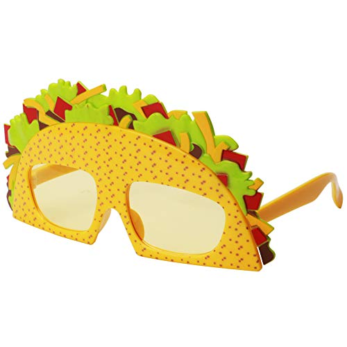 Ocean Line Sandwich Sunglasses - Fun Glasses, Party Favors, Novelty Shades, Party Toys, Funny Costume Accessories Kids & Adults (Sandwich) -