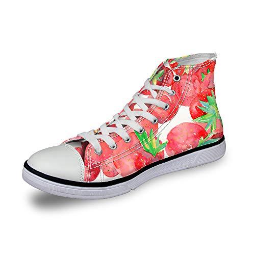ThiKin スニーカー レディーズ 個性的 3Dプリント カジュアル 靴 シューズ 人気 おしゃれ 軽量 通気 ファッション 通勤 通学 プレゼント メンズ