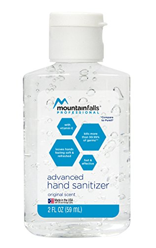 Mountain Falls Professional Advanced Original Hand Sanitizer Fishbowl with 36, 2 Fluid Ounce Bottles by Mountain Falls (Image #2)