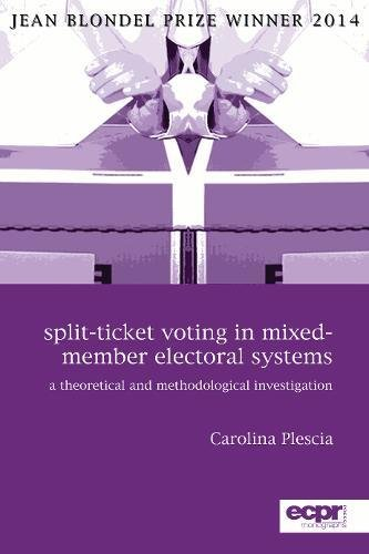 Members Voting (Split-Ticket Voting in Mixed-Member Electoral Systems: A Theoretical and Methodological Investigation (Epcr Press Monographs))